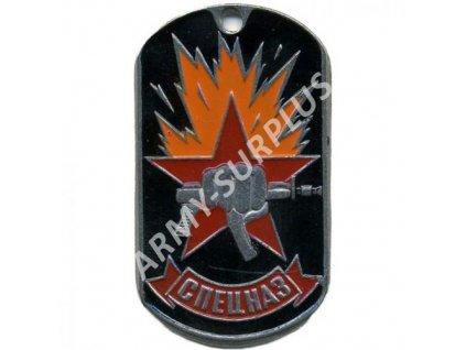 Ruské identifikační známky ID Dog Tags č.2