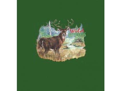 Tričko (triko) potisk jelen č.348