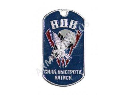 Ruské identifikační známky ID Dog Tags č.30