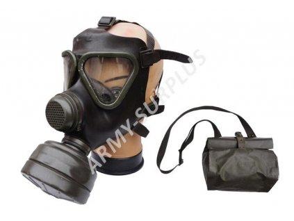 Plynová maska BW M65Z s filtrem a brašnou