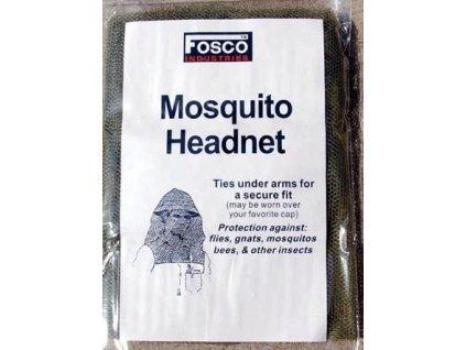 Moskytiera na hlavu oliv Fosco