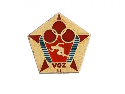 Odznak ČSLA vojenské zdatnosti II. stupně