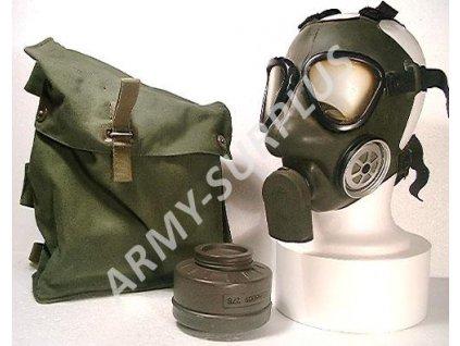 Plynová maska Skyddsmask-51 Švédsko
