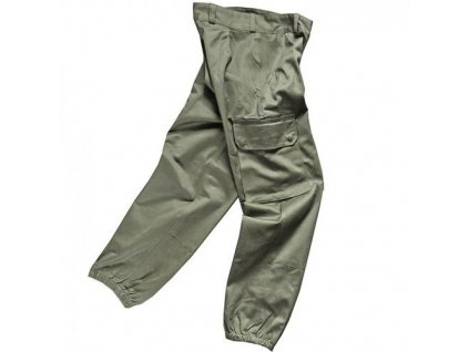 Kalhoty Francie originál F2 cizinecká legie oliv originál