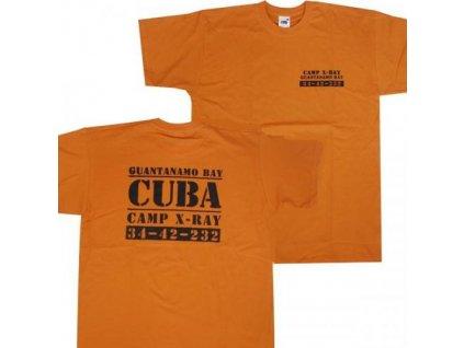 Tričko (triko) potisk věznice Guantanamo