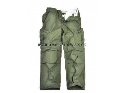 Kalhoty polní M65 US originál oliv Vietnam 1968 Davis MFG.