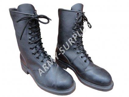 Boty US army kožené černé originál nové