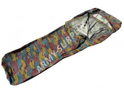 Povlak na spací pytel (spacák,žďárák, bivak, obal) camo GORE-TEX Belgie jigsaw trilaminát bivy cover