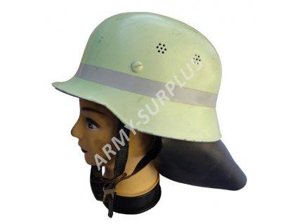 Helma (přilba) Německo hasič plastová použitá