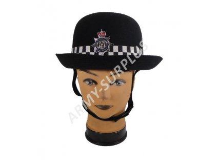 Klobouk britský čepice policejní dámská Velká Británie originál