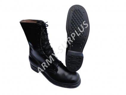 Boty US Vietnam černé kožené original