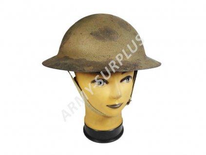 Helma (přilba) britská - Brodie/Tommy helmet bez přehnutého okraje Velká Británie