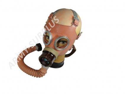 Plynová maska dětská DM1 DM-1 Československo ČSLA 1969