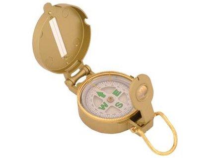 Kompas Lensatic zlatý