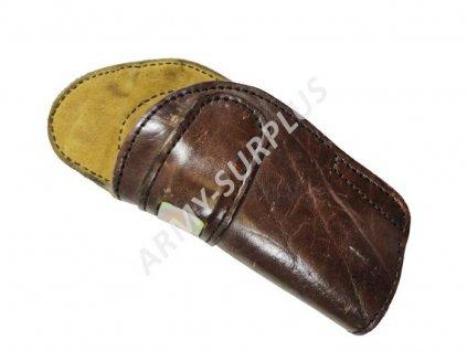 Opaskové pouzdro kožené na revolver pro leváky