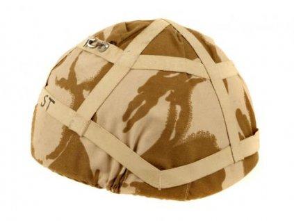 Potah (povlak,obal,převlek) na helmu MK6 Velká Británie DPM desert