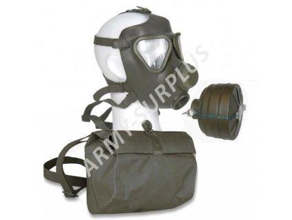 Plynová maska BW (Bundeswehr) M-65 Drager s filtrem a obalem
