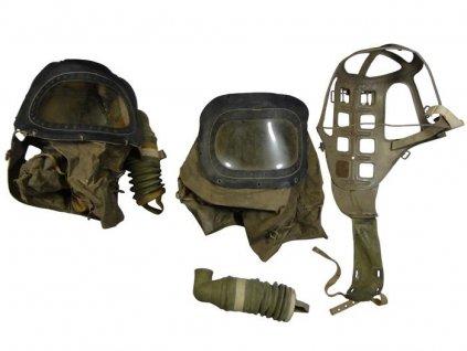Plynová maska C3 (plynový dětský vak) 1939 kompletní britská Velká Británie