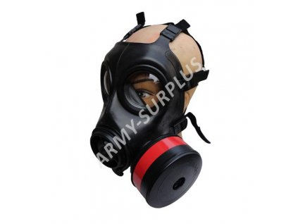 Plynová maska Velká Británie/Holandsko Avon FM12 pro 2 filtry