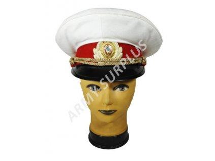 Brigadýrka Ukrajina bílá červený lem