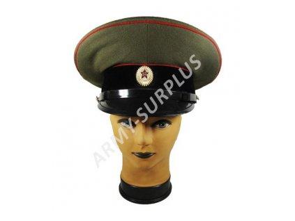 Brigadýrka Rusko černý lem plastový podbradník
