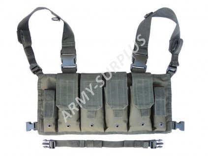 Mag carrier chest rigg bandalír oliv