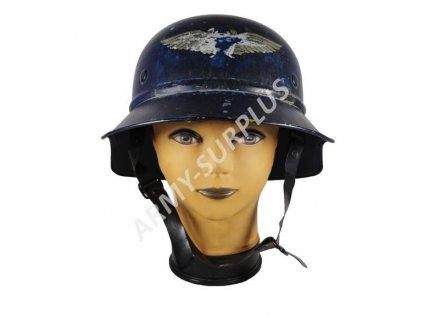 Helma (přilba) Německo Wehrmacht Luftschutz original (Gladiátor III)