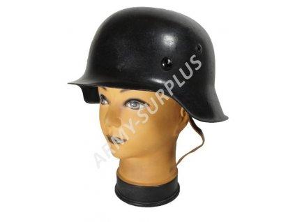 Helma (přilba) Německo M42 Wehrmacht Stahlhelm černá