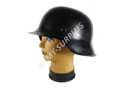 Helma (přilba) Německo M42 Wehrmacht černá Stahlhelm