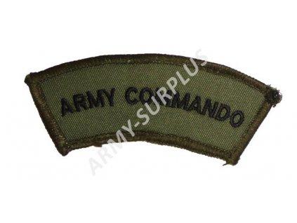 Nášivka Army Commando originál