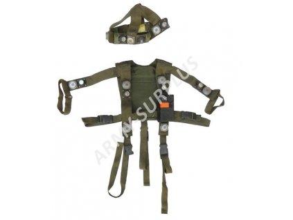 Vesta střelecká tréningová s infra senzory BW (Bundeswehr) originál