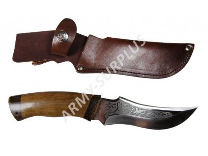 Lovecký nůž Diana Rusko vyrobený na zakázku