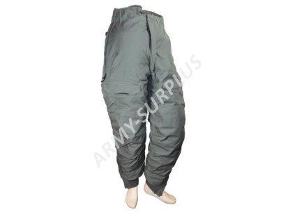 Kalhoty zimní šedé US do extrémně chladného počasí type F-1B