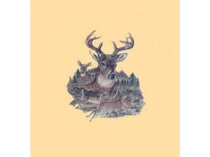 tricko--triko--potisk-jeleni-stado