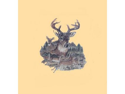 Tričko (triko) potisk jelení stádo
