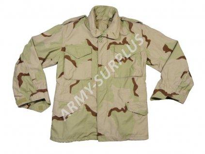 Polní kabát,bunda (parka) M65 Desert 3 color US originál