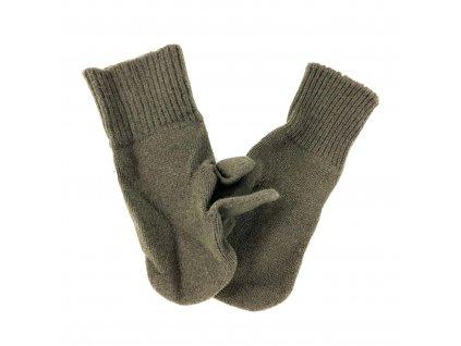 Zimní rukavice US tříprsté original oliv