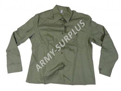 Košile ČSLA dámská oliv originál