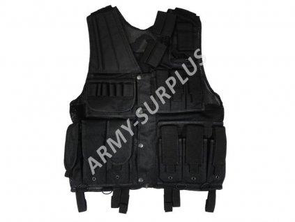 Taktická vesta SWAT černá