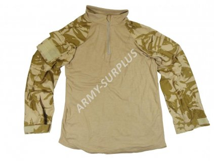 Taktické triko britské UBACS nehořlavé Velká Británie DPM desert pouštní