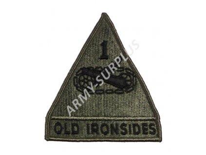 Nášivka US First Armored Division (první obrněná divize)