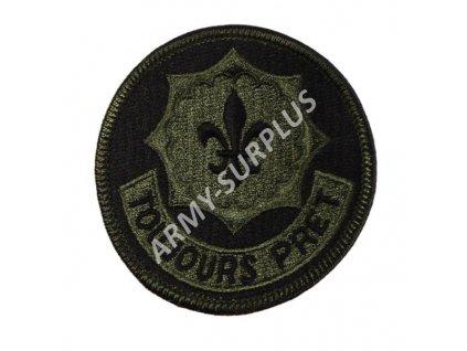 Nášivka US Second Stryker Cavalry Regiment (Toujours Pret)