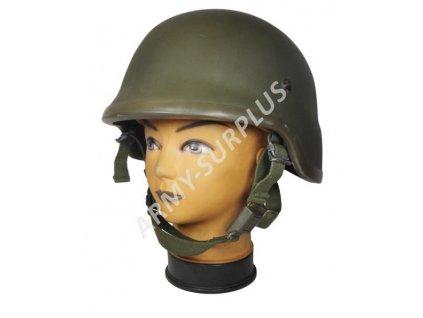 Kevlarová helma (přilba) Schubert BW Bundeswehr Německo originál oliv