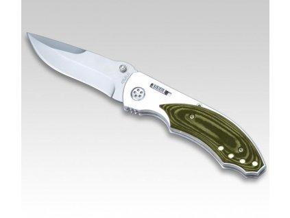 Nůž zavírací Tekut kov hnědé střenky 335911