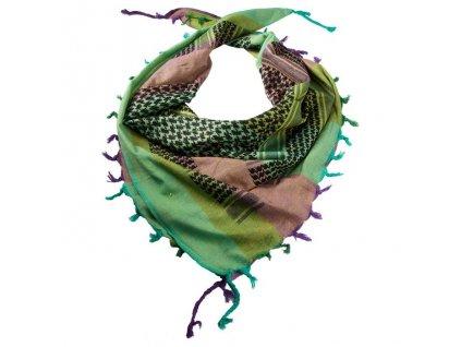 Šátek palestina multicolor 2 (shemagh, arafat)