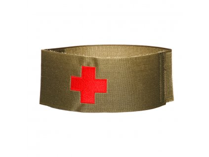 Páska na rukáv zdravotník medic 101INC oliv velcro