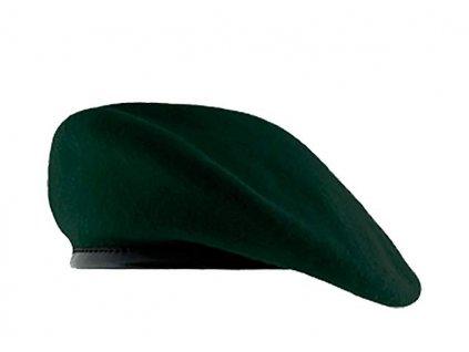 Baret AČR průzkumné vojsko (průzkumníci) tmavě zelený