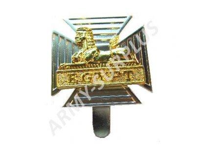 Odznak britský na baret Velká Británie Royal Gloucestershire