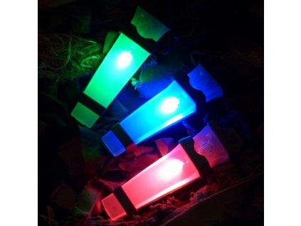 Osvětlení (světlo) na helmu E-Lite