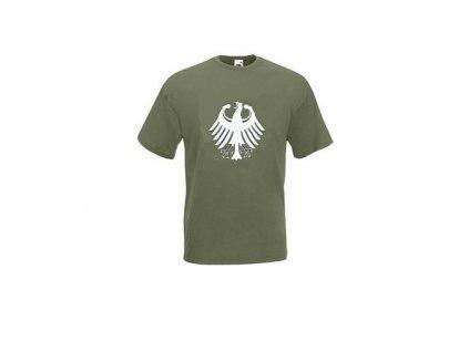 Tričko (triko) potisk oliv orlice